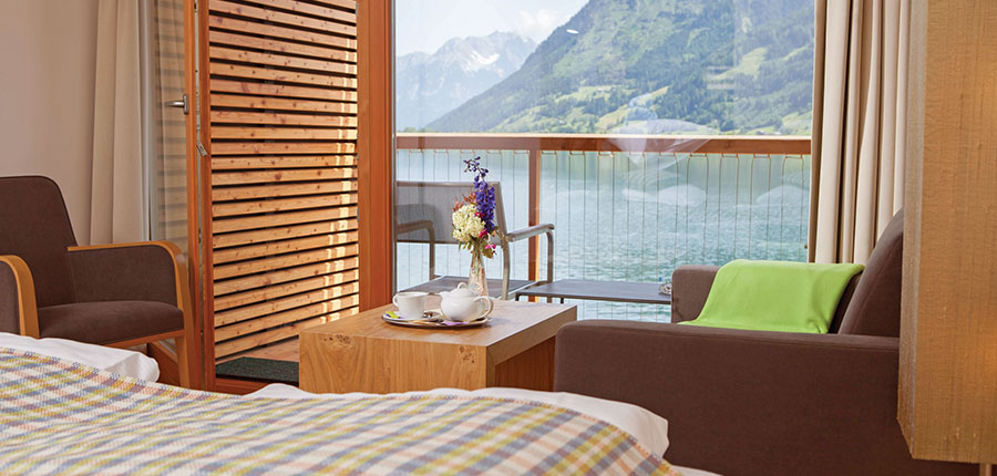 Hotel Seevilla Freiberg, Zell am See, Austria - bedroom view.jpg